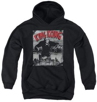 King Kong City Poster Big Boys Pullover Hoodie