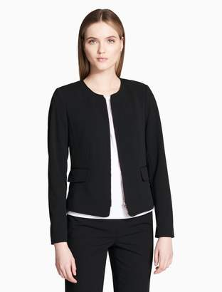 Calvin Klein scuba stretch zip jacket