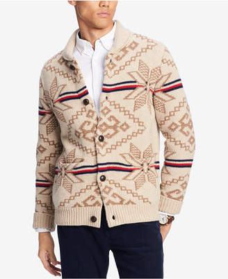 Tommy Hilfiger Men's State Shawl-Collar Cardigan