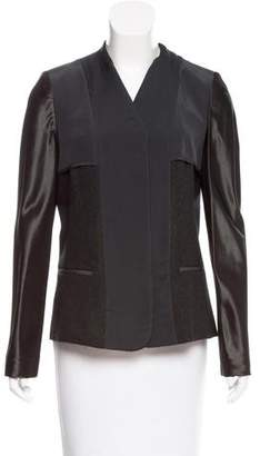 Reed Krakoff Silk-Paneled Wool Blazer