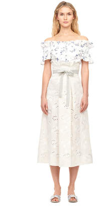 Rebecca Taylor Magic Garden Eyelet Skirt
