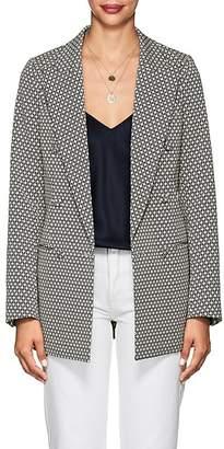 Co Women's Floral Cotton-Blend Jacquard Blazer