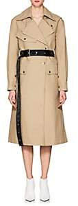 Helmut Lang Women's Belted Cotton Trench Coat - Cargo
