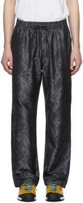 Needles Grey and Navy Paisley Easy Lounge Pants