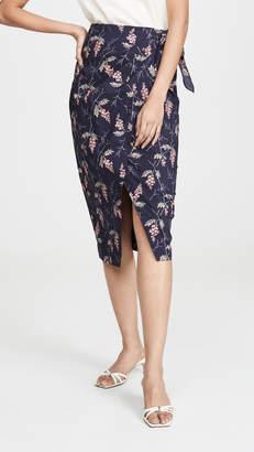 Rebecca Taylor Ivie Wrap Skirt