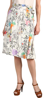 Paul Smith Floral Skirt with Tie Waist