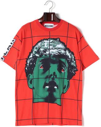Moschino (モスキーノ) - MOSCHINO プリント クルーネック 半袖Tシャツ レッドミックス 46