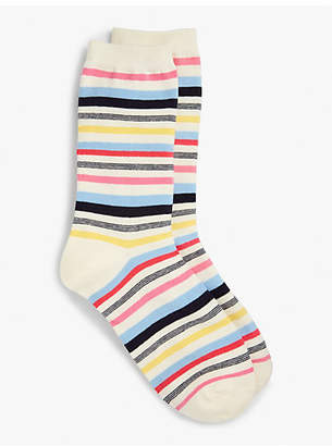 Talbots Multi-Stripe Trouser Socks