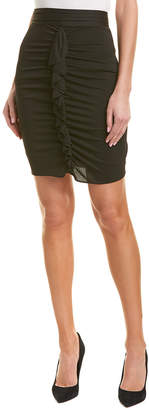 Reiss Chaser Ruched Fitted Skirt