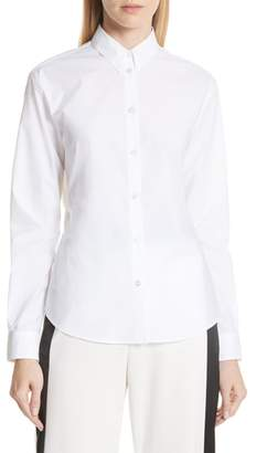 MM6 MAISON MARGIELA Split Back Poplin Shirt
