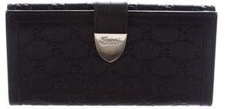 Gucci Guccissima Continental Wallet