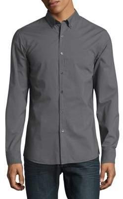 Michael Kors Slim Fit Cotton Button-Down Shirt