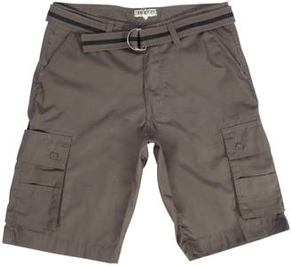 Blue-Gear Blue Gear Mens Big And Tall Belted Cell Phone Pocket Cargo Shorts
