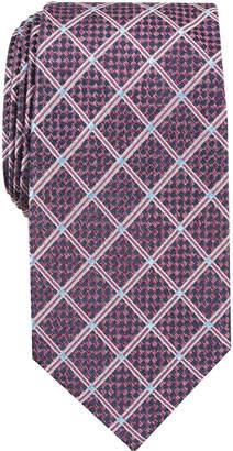 Perry Ellis Men Edale Grid Silk Tie