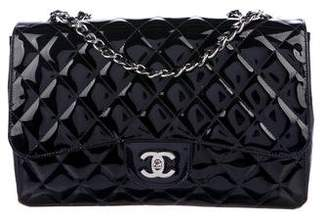 Chanel Mobile Art Jumbo Patent Leather Bag