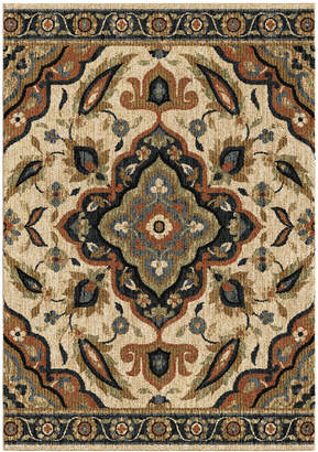 """Orian Rugs Next Generation Wada Off White 3'11"""" x 5'5"""" Area Rug"""