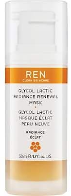 REN Glycol Lactic Radiance Renewal Mask, 50ml