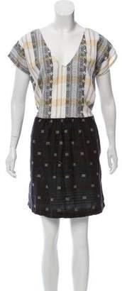 Ace&Jig Abstract Mini Dress