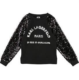 Karl Lagerfeld Paris Lagerfeld Sweatshirt (6-12Years)