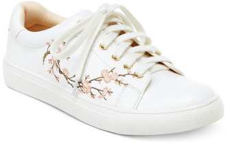 Nanette by Nanette Lepore Winona Blossom Lace-Up Sneakers, Only At Macys $59 thestylecure.com