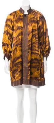 Diane von Furstenberg Hadini Printed Reversible Jacket