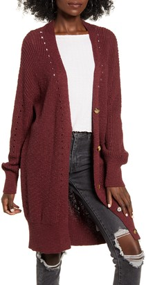 Billabong Mellow Nights Pointelle Cardigan