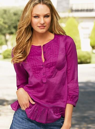 Bib blouse