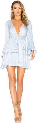 MAJORELLE Berkshire Dress in Blue $218 thestylecure.com