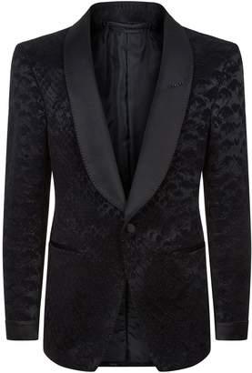 Tom Ford Shelton Jacquard Tuxedo Jacket