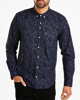 Lambretta Paisley Print Shirt Reg