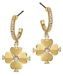 Kate Spade Women's Spade Flower Huggie Earrings