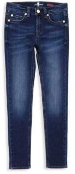 7 For All Mankind Little Girl's & Girl's Luxe Sport Skinny Jeans