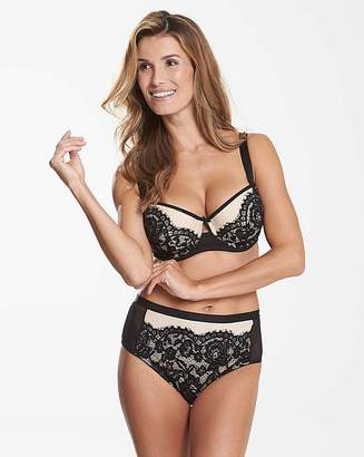 Pretty Secrets Milly Lace Black Balcony Bra