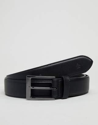 Original Penguin Skinny Leather Smart Belt