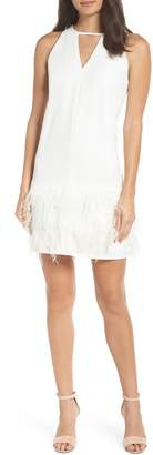 Sam Edelman Feather Hem Shift Dress