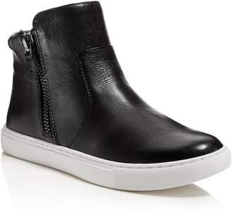 Gentle Souls Women's Carole Leather High Top Sneakers
