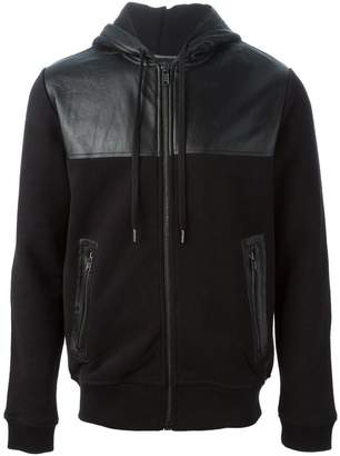 Marc by Marc Jacobs panelled panel hoodie