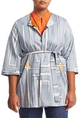 Marina Rinaldi Marina Rinaldi, Plus Size Filosofo Cotton Jacket