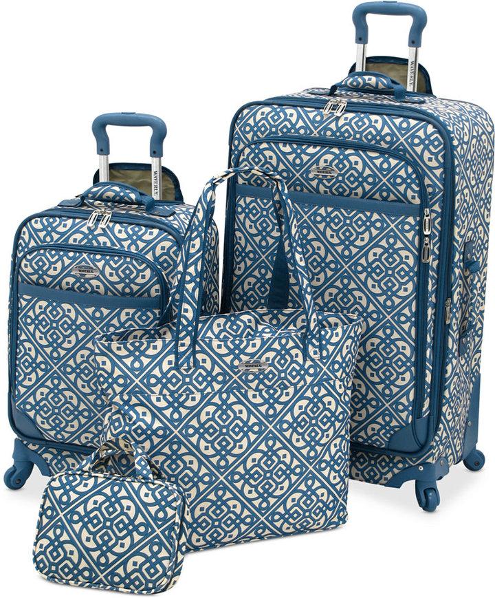 Waverly Boutique 4 Piece Luggage Set