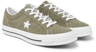 Converse One Star OX Suede Sneakers - Men - Green