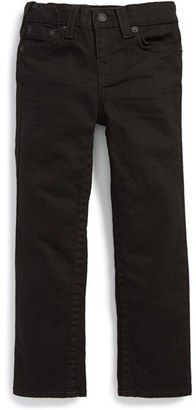 Toddler Boy's True Religion Brand Jeans 'Geno' Relaxed Slim Fit Jeans $79 thestylecure.com