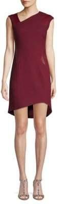 Helmut Lang Pixel High-Low Dress