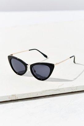 Retro Slim Cat-Eye Sunglasses $18 thestylecure.com