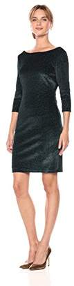 Sangria Women's Sparkle Knit Dress