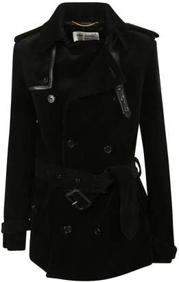 Saint Laurent Belted Classic Coat