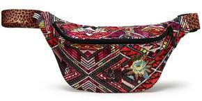 adidas Embroidered Printed Canvas Belt Bag