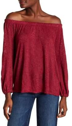 Velvet by Graham & Spencer Zinnia Off-the-Shoulder Shirt