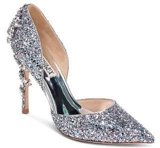 Badgley Mischka Women's Vogue III Crystal Embellished d'Orsay Pumps - 100% Exclusive
