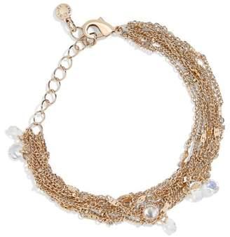 BaubleBar Arisia Crystal Multistrand Bracelet