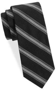 Saks Fifth Avenue Stripe Silk Tie